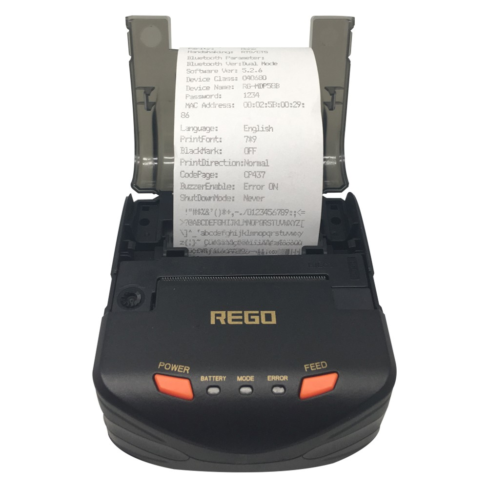 58 mm 5V Portable Dot Matrix Receipt Printer RG-MDP58C