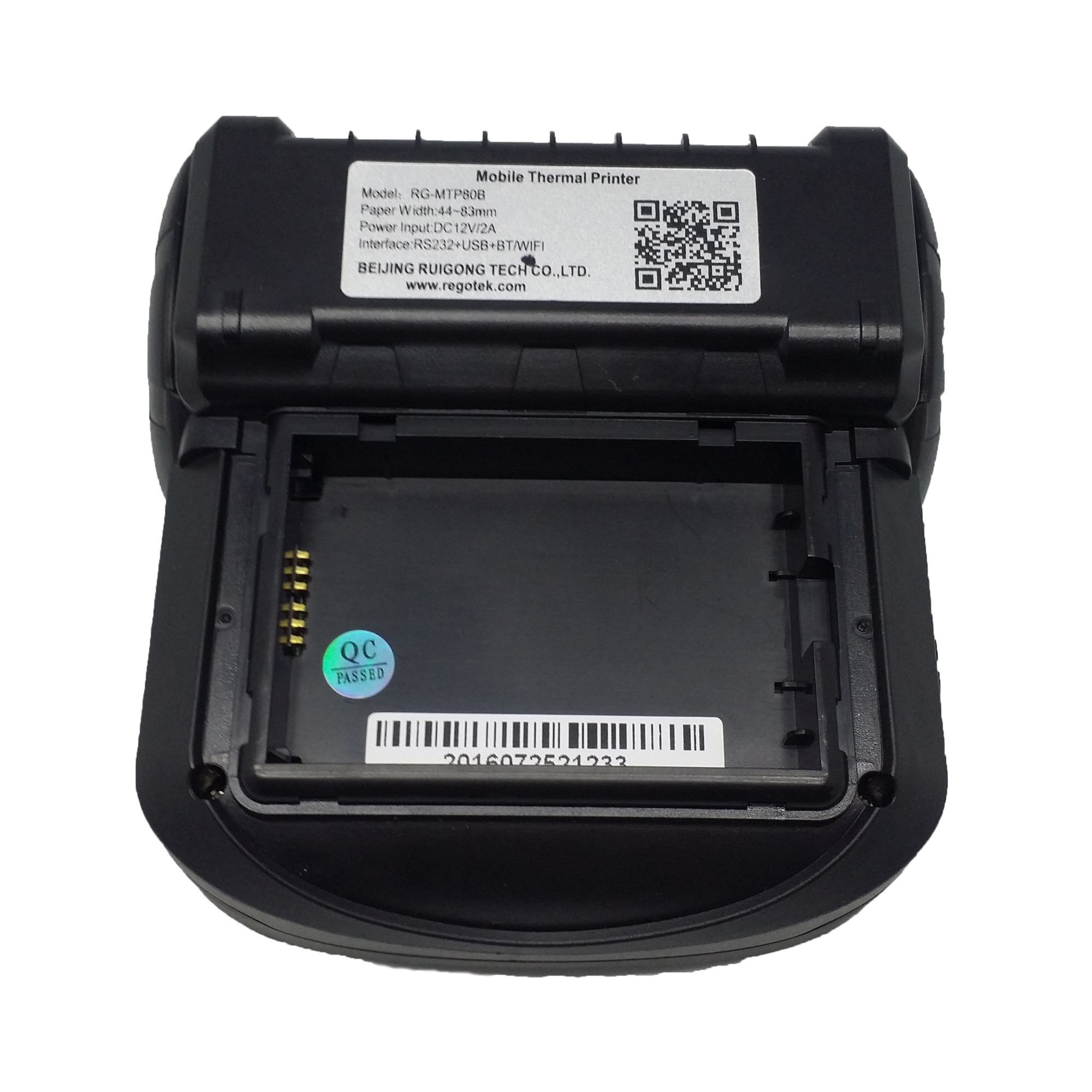 "3"" 5V Thermal Mobile Label Printer RG-MLP80B"